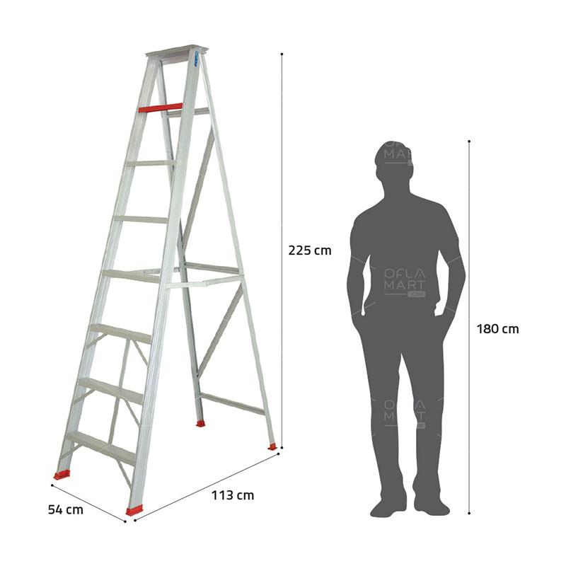 Tangga A Single Step 225 - AM Ladders