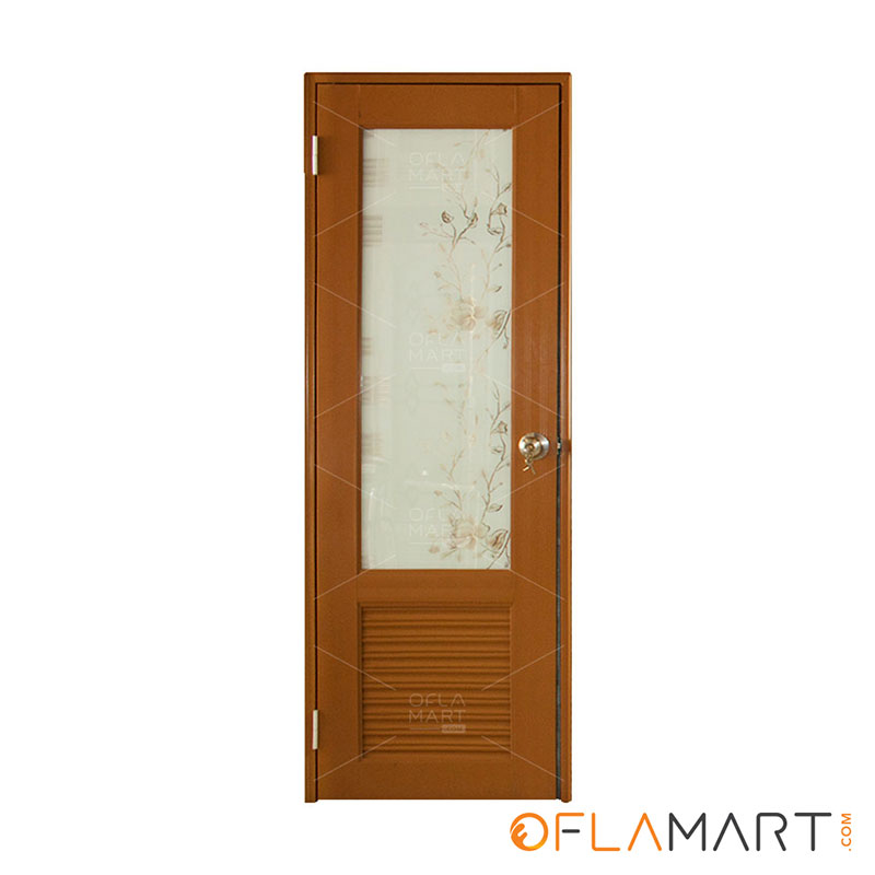 Pintu Kamar Mandi Coklat - PKM