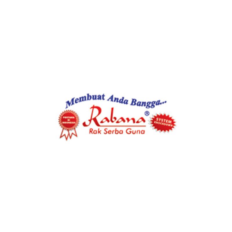 Lemari Piring RPR 3P Komposit Brushing - Rabana