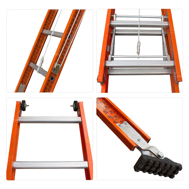 Tangga  Extension Sorot Heavy Duty 203 - AM Ladders